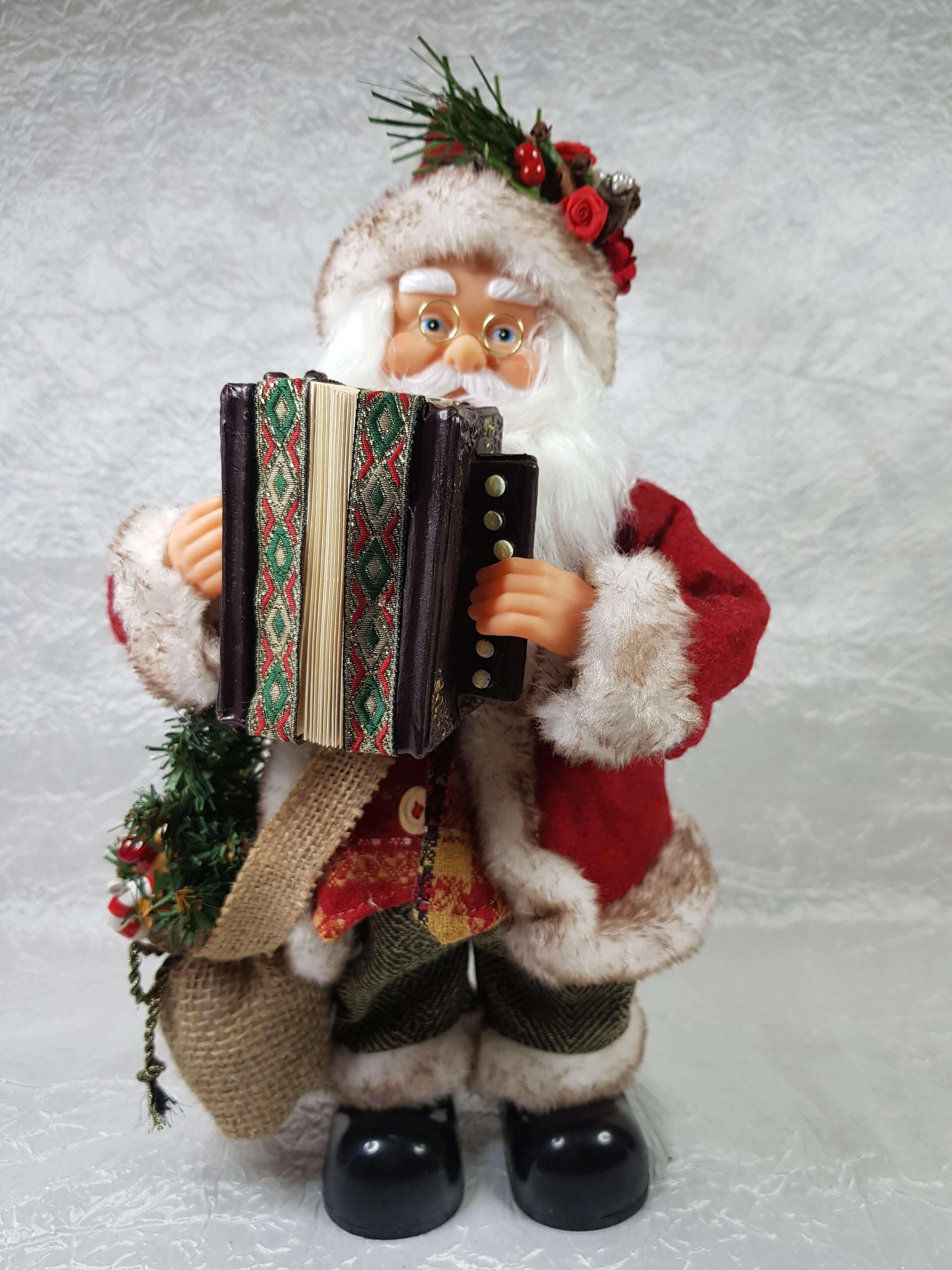 Babbo Natale Musicale.Babbo Natale Musicale Con Fisarmonica Musica E Movimento Arteincasamia