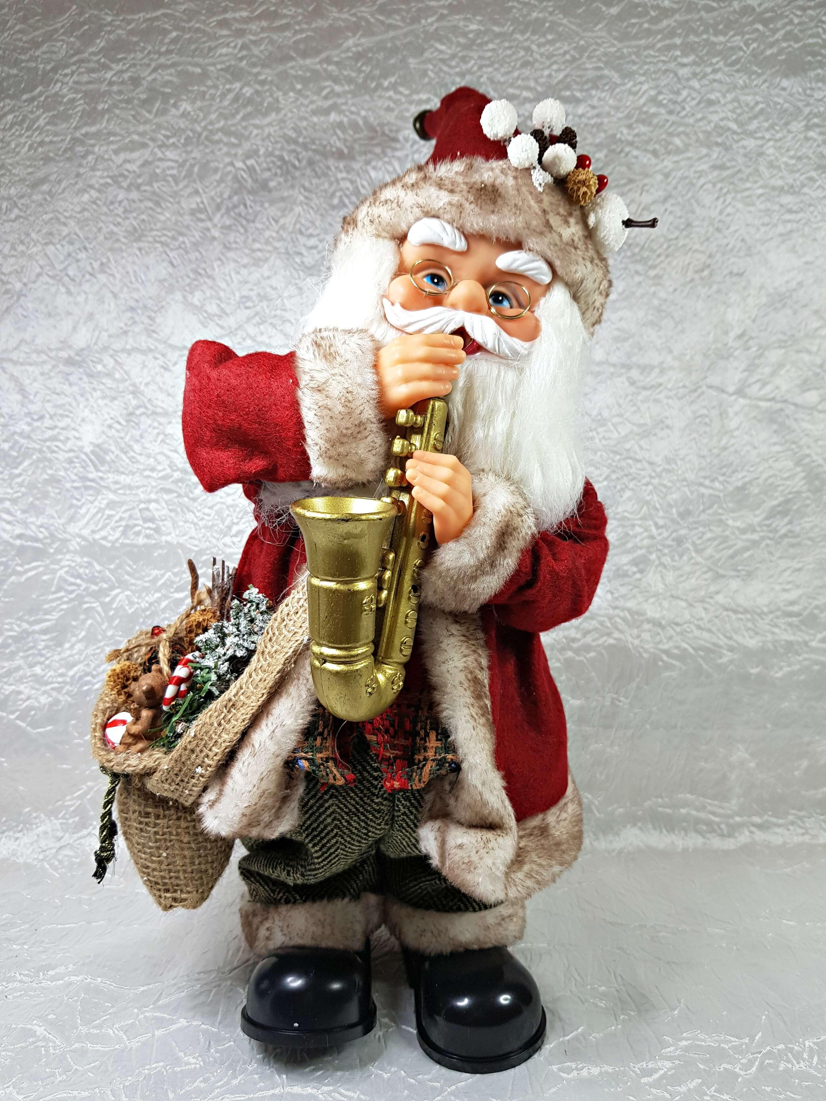 Babbo Natale Musicale.Babbo Natale Musicale Con Sassofono Musica E Movimento Arteincasamia